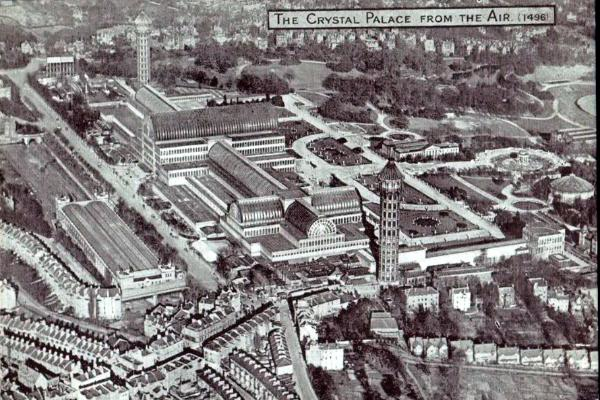 The Crystal Palace from the air