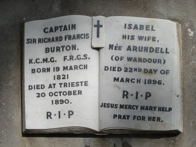 Richard and Isabel Burton RIP