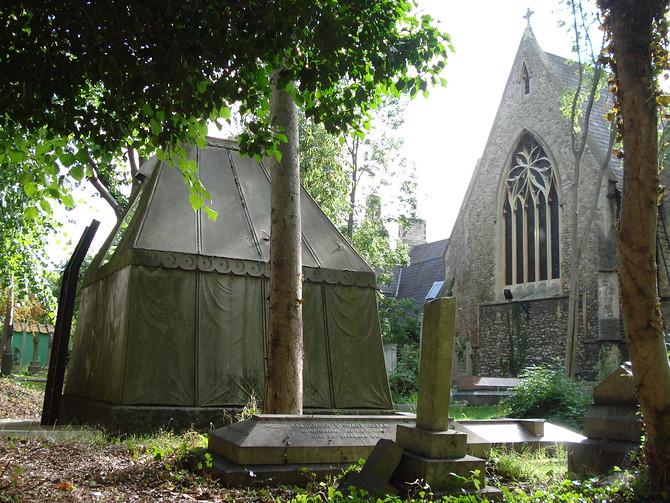 Burton Mausoleum - St Mary Magdalens Mortlake