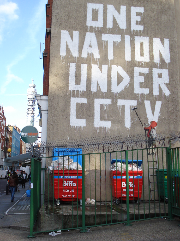 Banksy - One nation under CCTV