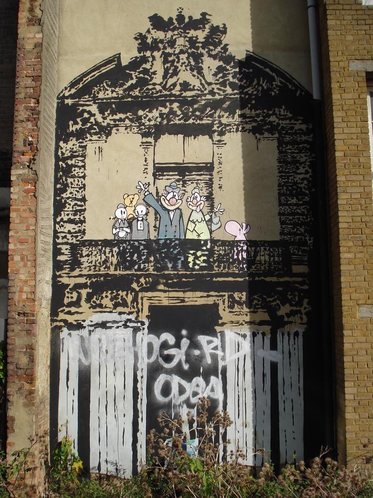 Banksy - Blur Crazy Beat art work