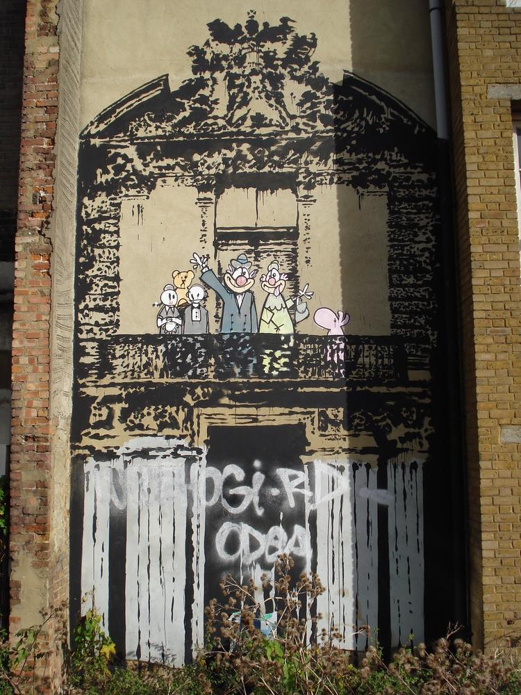 Banksy - Blur Crazy Beat art work