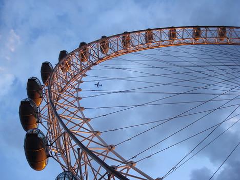 London Eye capsules, London - England.