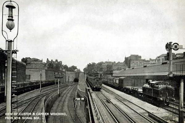 Euston and Camden Widening