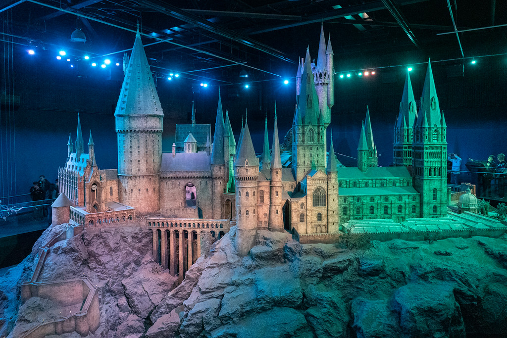 Hogwarts Castle scale model
