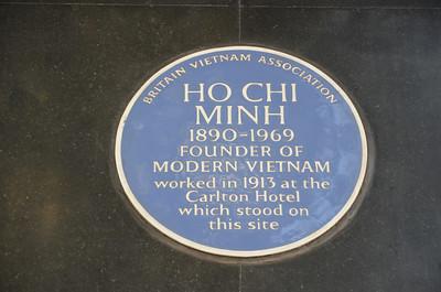 Ho Chi Minh Plaque