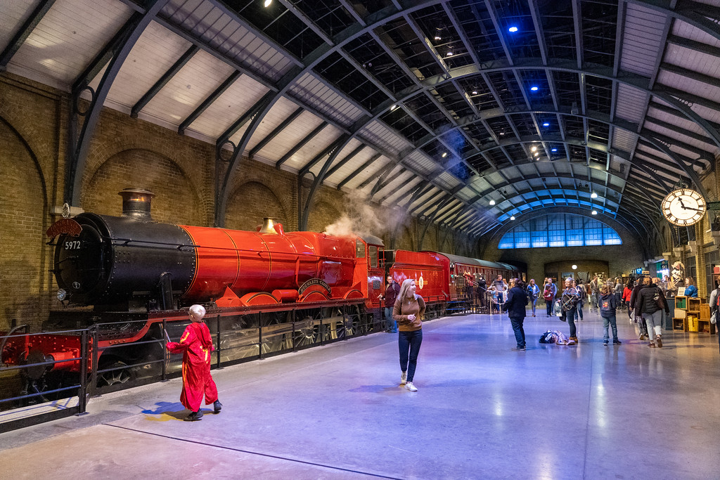 Hogwarts Express at Warner Bros. Studio Tour London