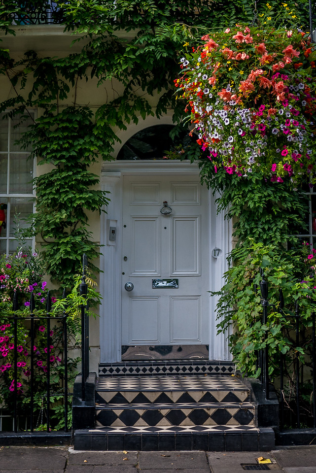 The beautiful doors of London
