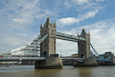 The Tower Bridge in London, England
