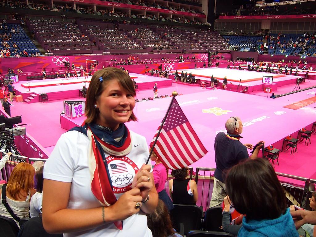 Amanda at the 2012 Summer Olympics in London
