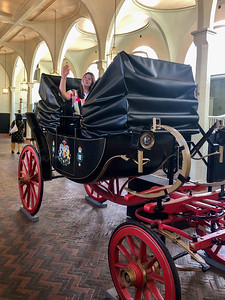Amanda at the Royal Mews