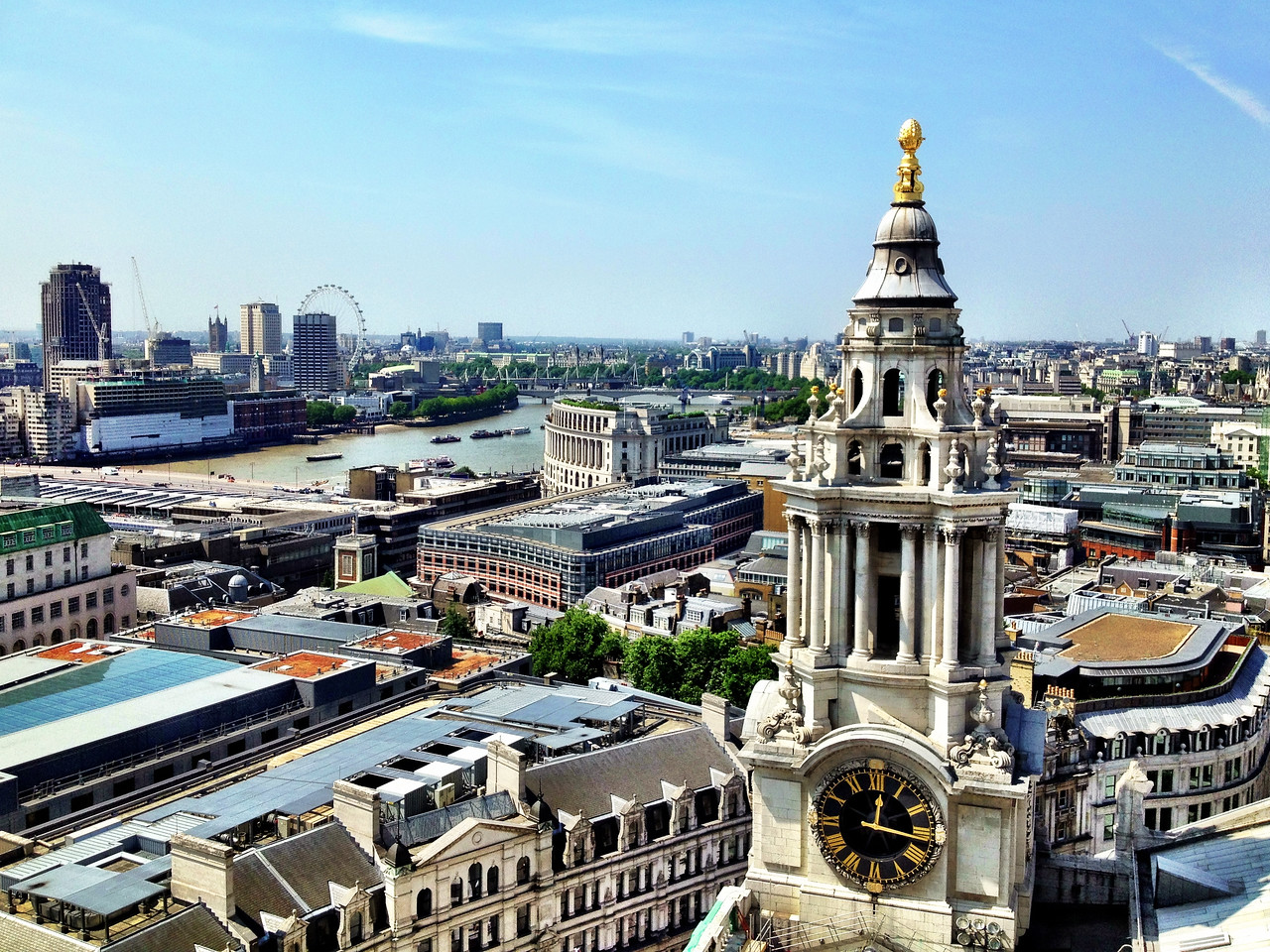 The view from the dome of St. Paul's
