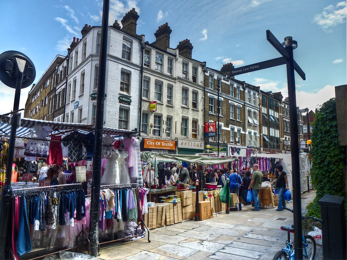 london petticoat lane market