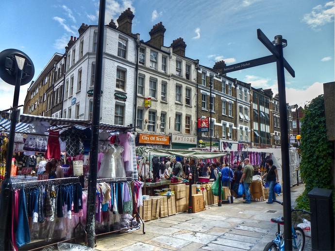 london petticoat lane market