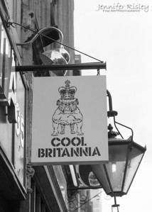 Cool Britannia Sign