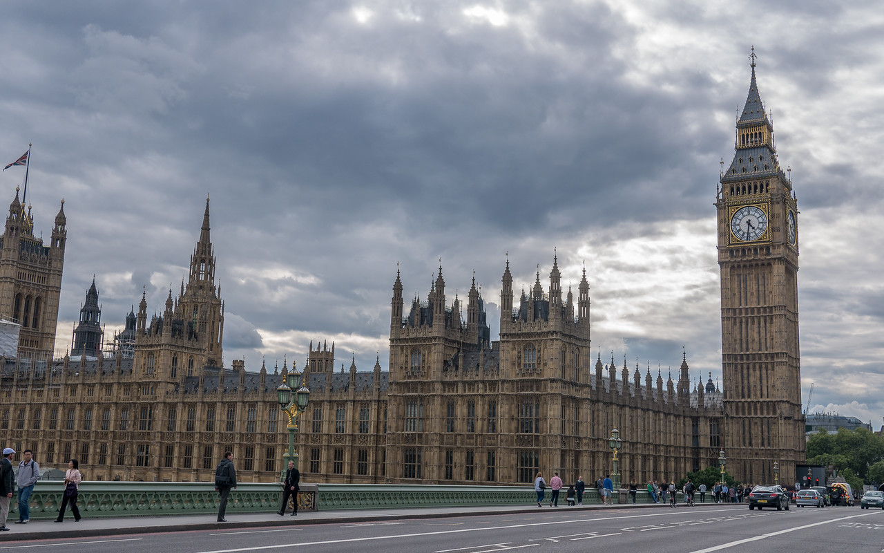 Sighting Big Ben! In London, England.