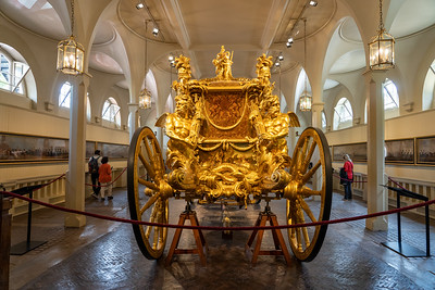 Gold Stage Coach at the Royal Mews