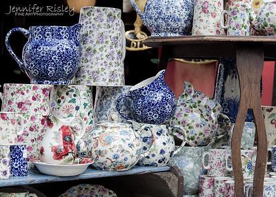 Ceramics at Portobello Road Market