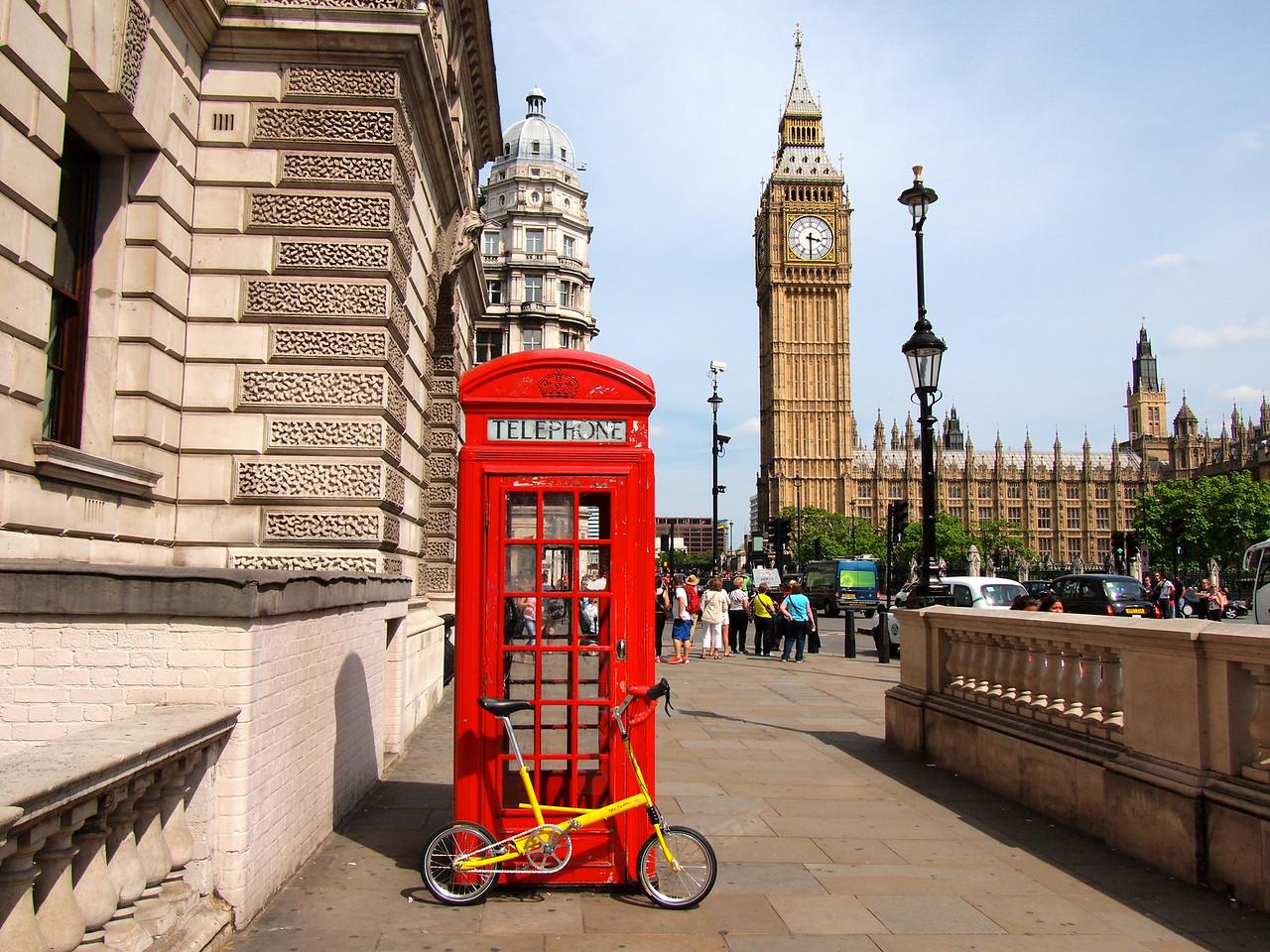 London Big Ben view