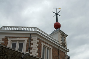 Ball atop the Greenwich Observatory