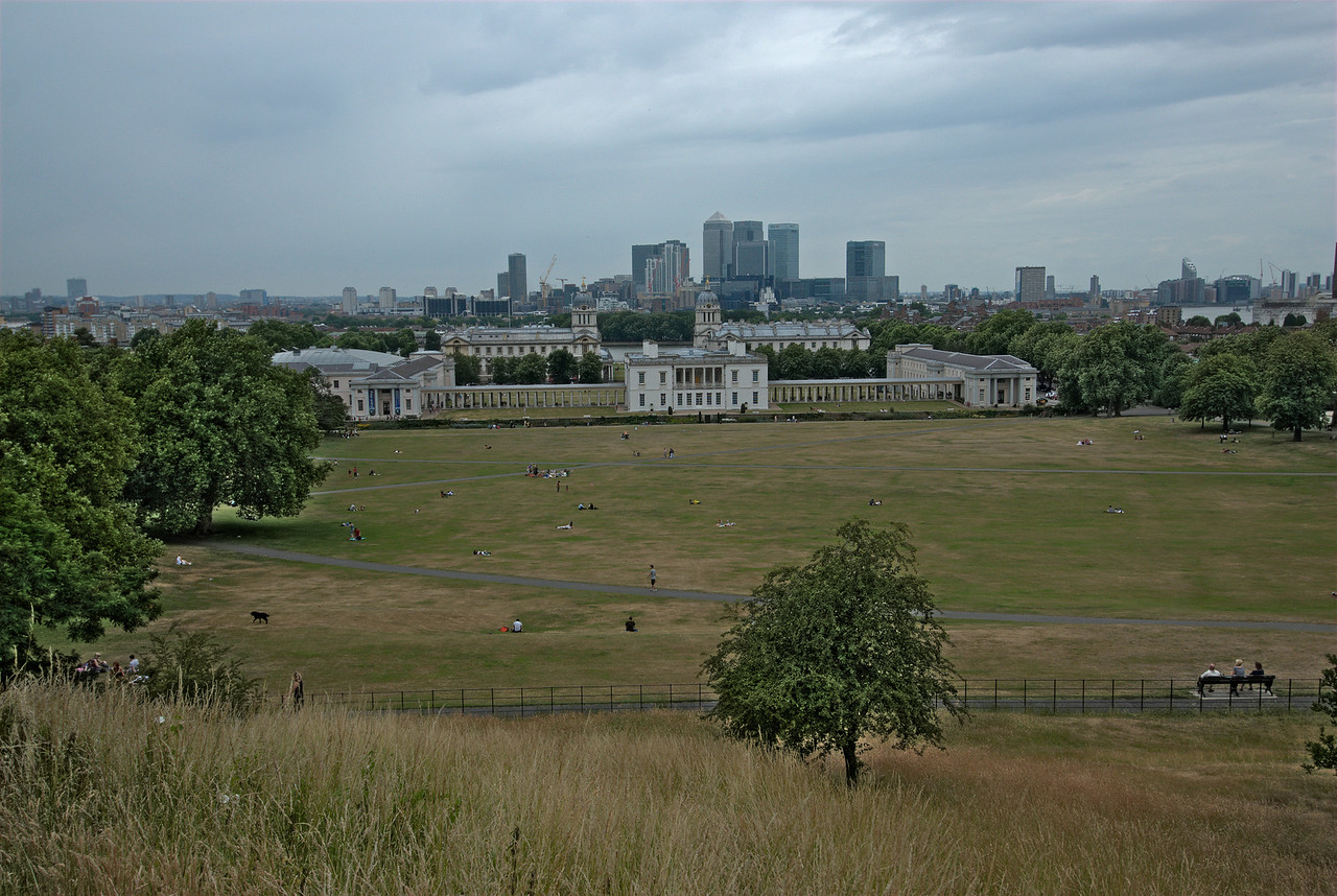 View of the Queen's House from afar - Greenwich, England