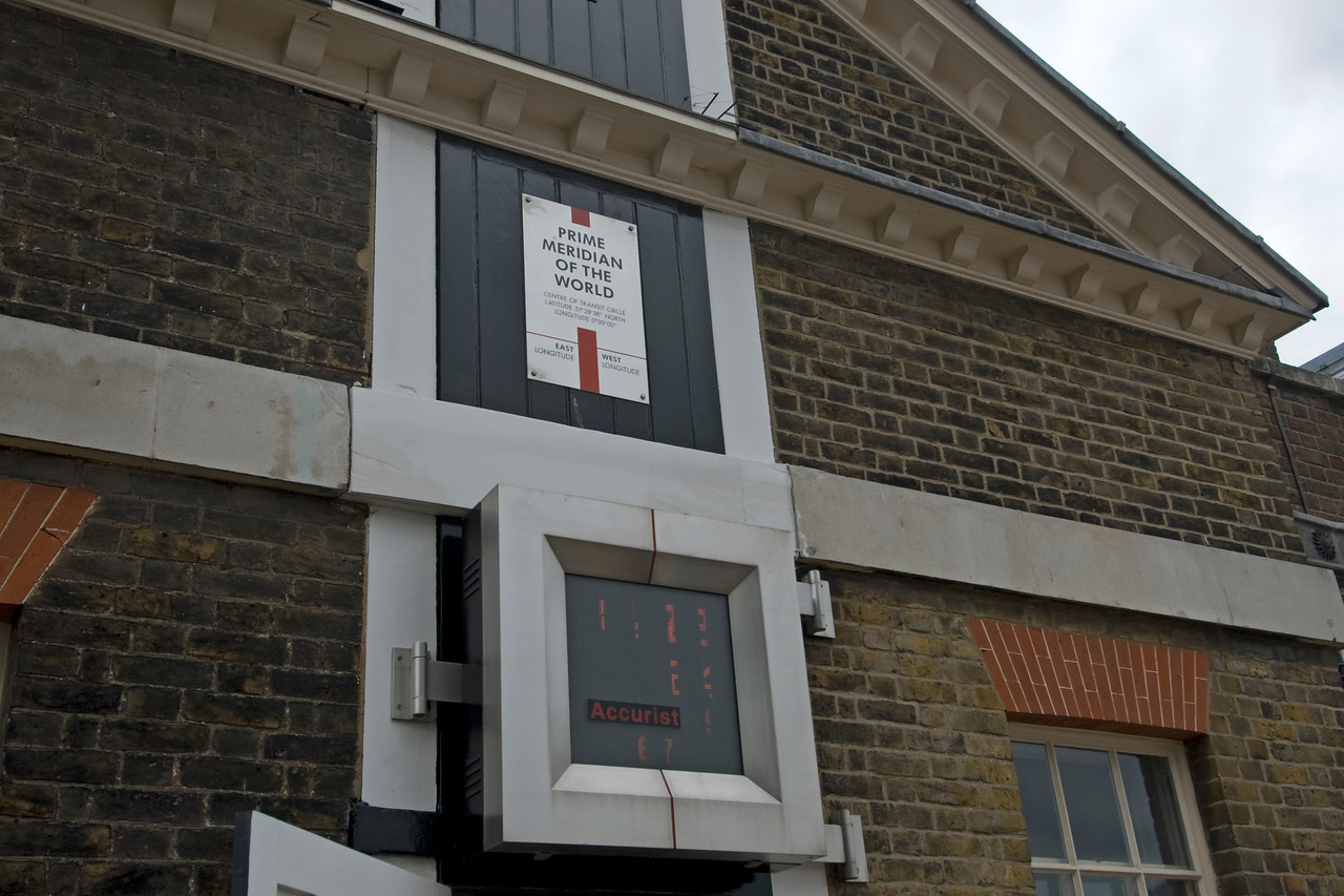 The Prime Meridian at Greenwich, England
