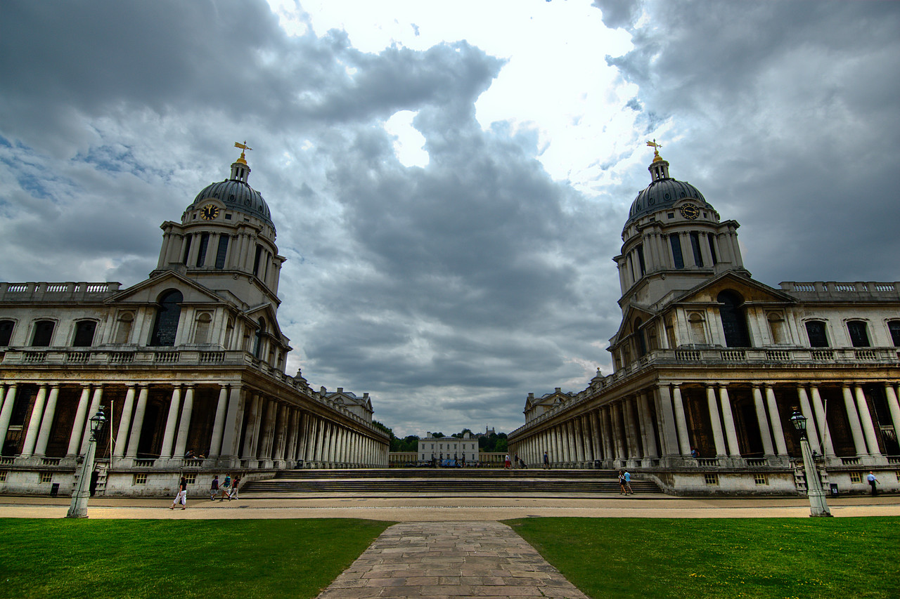 The Royal Naval College in Greenwich, England