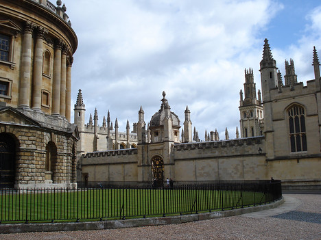 Radcliffe Square, Oxford - England