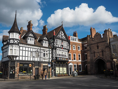 North Bar Gate in Beverley, England