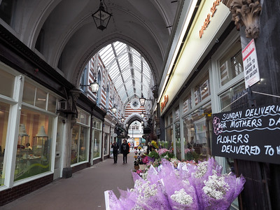 Victorian Shopping Arcade in Hull, England