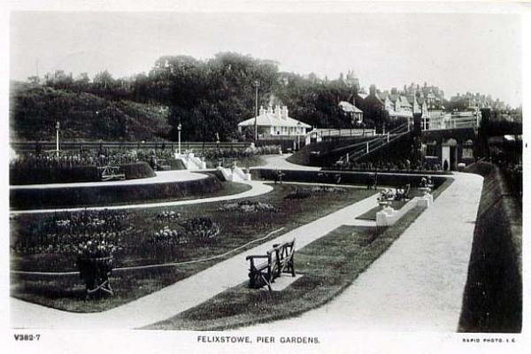 Felixstowe Pier Gardens