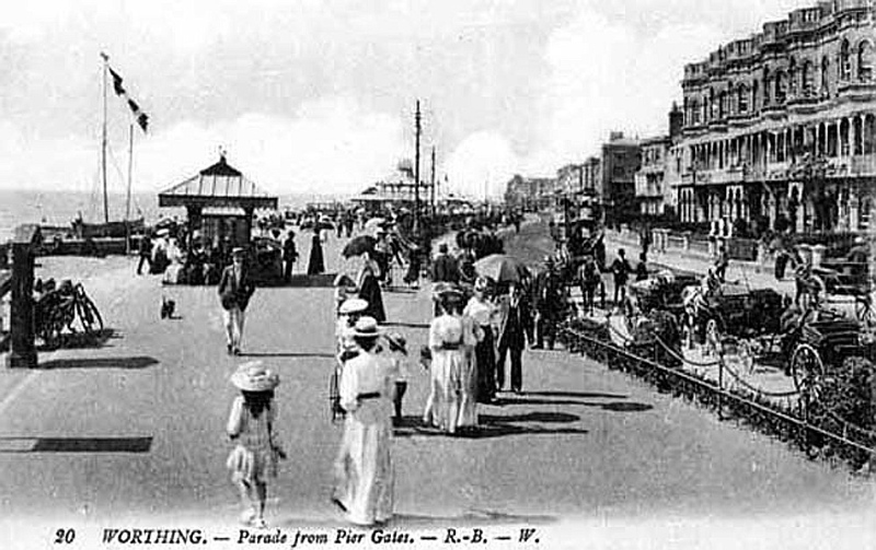 The Parade from the Pier Gates