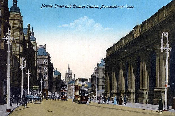 Neville Street and Central Station