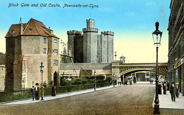 Black Gate and Old Castle.