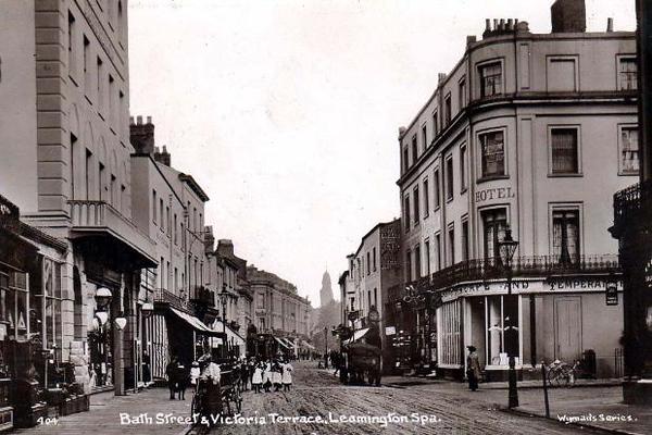 Bath Street and Victoria Terrace