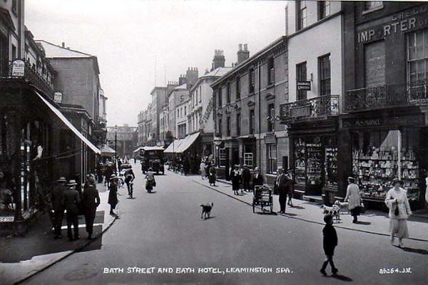 Bath Street and the Bath Hotel