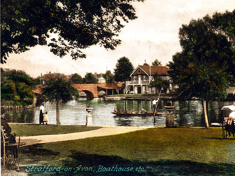 The Bancroft Gardens and the Boathouse