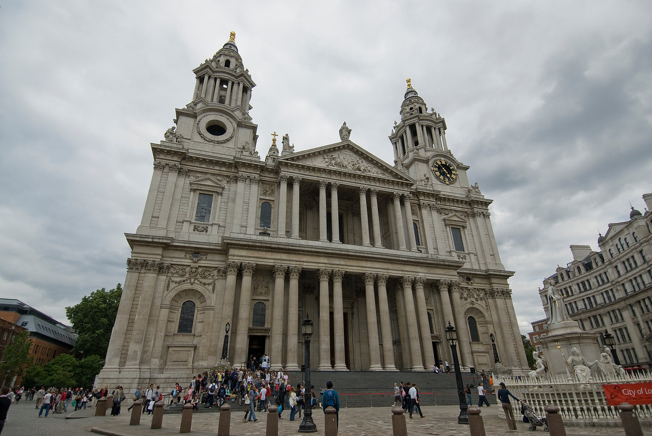 St. Paul's Cathedral in Westminster, England