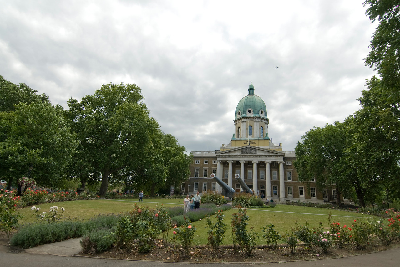 The Imperial War Museum in Westminster, England