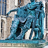 "Statue of Roman Emperor Constantine The Great.AD 274-337. In York. AD 306. York Minster. Cathedral. The largest Medieval Gothic cathedral north of the Alps and a treasure house of 800 years of stained glass.. York is a walled city, situated at the confluence of the Rivers Ouse and Foss in North Yorkshire, England. The city has a rich heritage and has provided the backdrop to major political events throughout much of its two millennia of existence. The city was founded by the Romans in 71 AD. They called it Eboracum, a name perhaps derived from one used by the British tribes who inhabited the area. The Romans made it the capital of their Province of Britannia Inferior.[4] At the end of Roman rule in 415 AD the settlement was taken over by the Angles and the city became known as Eoforwic. The city came to be the episcopal, and later, royal centre of the Kingdom of Northumbria.[5] The Vikings captured the city in 866 AD, and for the period between 866 and the final incorporation of Northumbria into the Kingdom of England in 954, York is sometimes referred to by modern writers by its Scandinavianised form, Jórvík. The name in its modern form ""York"" was first used in the 13th century. Renowned for its Roman, Viking, and Medieval heritage and wealth of attractions like and the iconic York Minster and JORVIK York is fast developing a flourishing cutting edge scene.   Broaden your mind with a visit to world class museums like the National Railway Museum and with a host of magnificent events, entertaining guided walks and boat trips on the River Ouse, there is something to keep you entertained throughout your stay.   Delve into the city's vibrant café culture or simply watch the world go by while sipping a drink at a riverside stylish bar or in one of the many cities' heritage taverns. <a href=""http://www.visityork.org/"">http://www.visityork.org/</a> ."