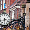 "Clock. York is a walled city, situated at the confluence of the Rivers Ouse and Foss in North Yorkshire, England. The city has a rich heritage and has provided the backdrop to major political events throughout much of its two millennia of existence. The city was founded by the Romans in 71 AD. They called it Eboracum, a name perhaps derived from one used by the British tribes who inhabited the area. The Romans made it the capital of their Province of Britannia Inferior.[4] At the end of Roman rule in 415 AD the settlement was taken over by the Angles and the city became known as Eoforwic. The city came to be the episcopal, and later, royal centre of the Kingdom of Northumbria.[5] The Vikings captured the city in 866 AD, and for the period between 866 and the final incorporation of Northumbria into the Kingdom of England in 954, York is sometimes referred to by modern writers by its Scandinavianised form, Jórvík. The name in its modern form ""York"" was first used in the 13th century. Renowned for its Roman, Viking, and Medieval heritage and wealth of attractions like and the iconic York Minster and JORVIK York is fast developing a flourishing cutting edge scene.   Broaden your mind with a visit to world class museums like the National Railway Museum and with a host of magnificent events, entertaining guided walks and boat trips on the River Ouse, there is something to keep you entertained throughout your stay.   Delve into the city's vibrant café culture or simply watch the world go by while sipping a drink at a riverside stylish bar or in one of the many cities' heritage taverns. <a href=""http://www.visityork.org/"">http://www.visityork.org/</a> ."