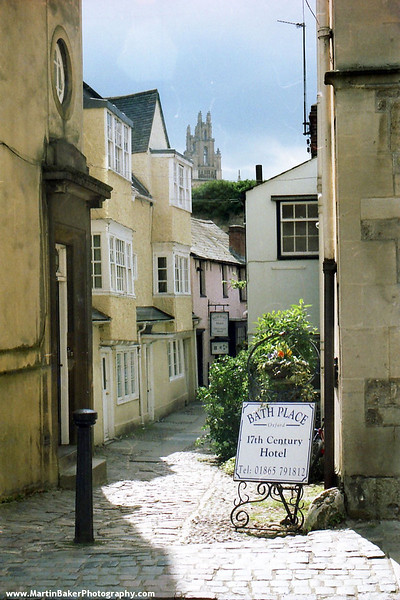 Holywell Street, Oxford, Oxfordshire, England.