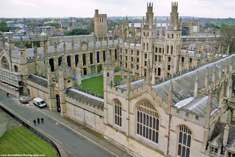 All Soul's College, Oxford, Oxfordshire, England.