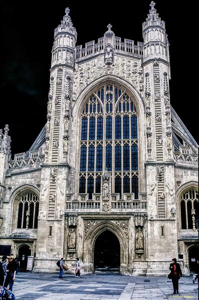 Bath Abbey (1608) - Bath, England