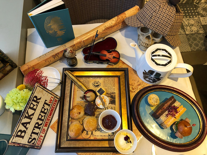 Sherlock Holmes Afternoon Tea in London