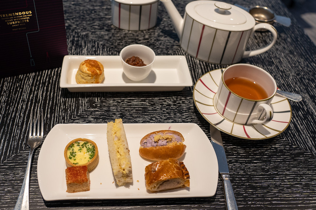 Charlie and the Chocolate Factory tea at One Aldwych
