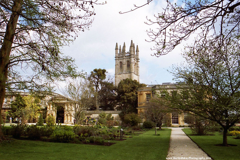 Magdalen College, Oxford, Oxfordshire, England.