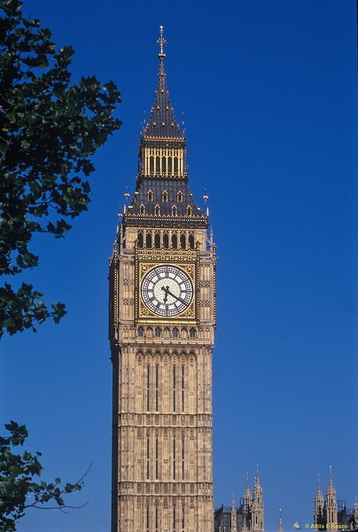 Big Ben Tower Clock - London, England