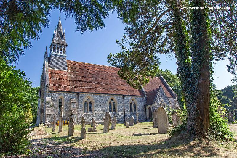 Christchurch Colbery Church, Ashurst, Southampton, England.