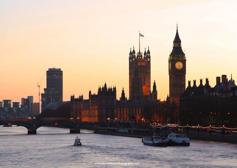 The Palace of Westminster, London, England.